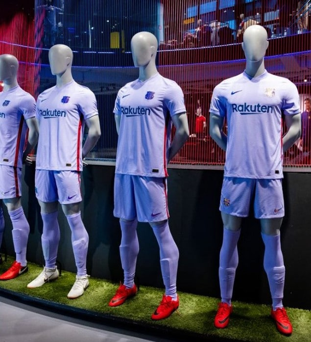 New Fcb Away Kit 2021 22 Purple Barca Jersey 2021 2022 Nike Football Kit News