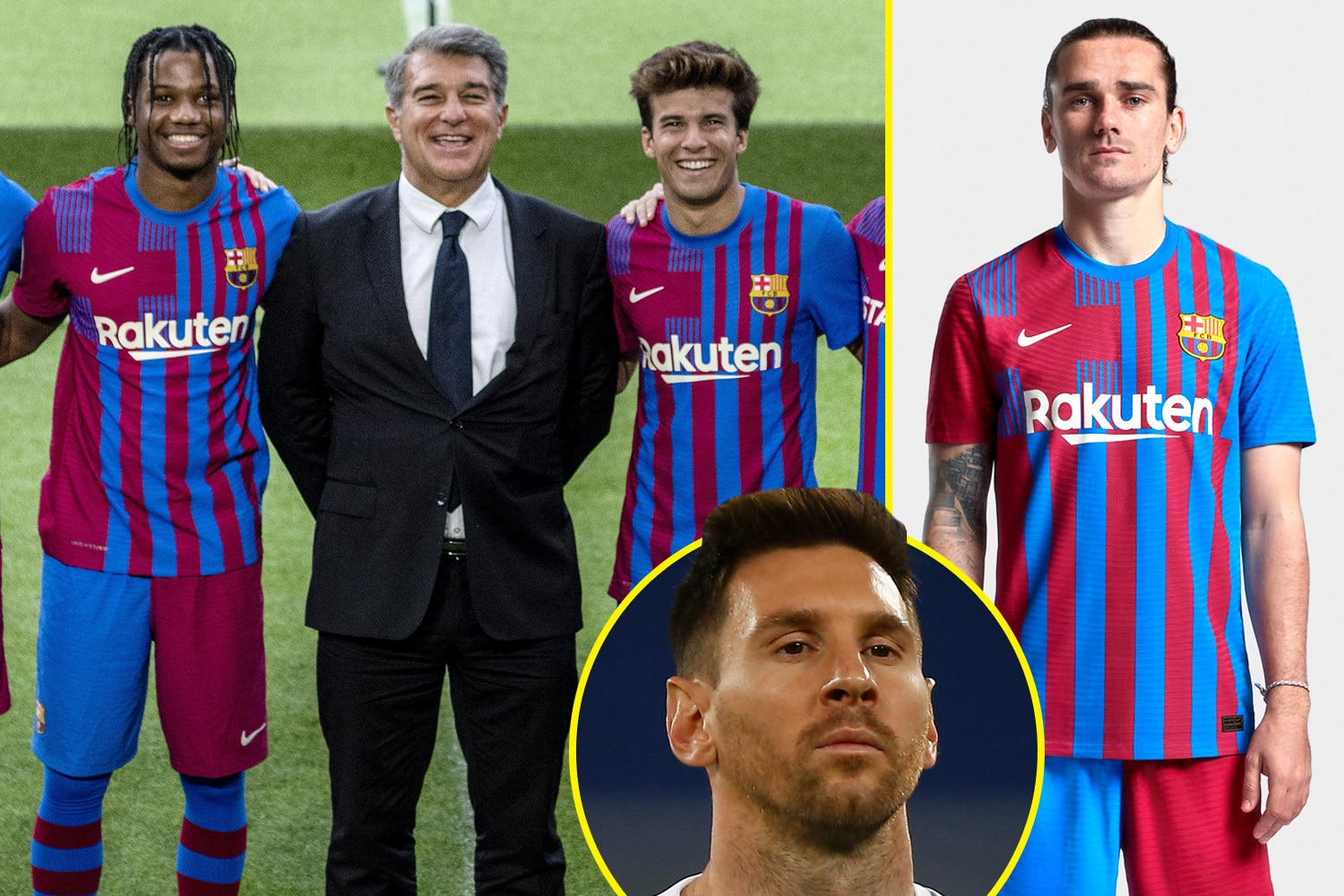 Barcelona Release New Kit For 2021 22 Based On Club Crest But Lionel Messi Absent From Promoting It With Superstar S Future Still In Doubt