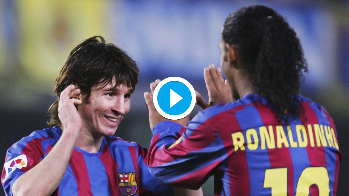 Watch Messi Top 10 Goals For Barcelona Since His Senior Debut In 2003 Football News India Tv