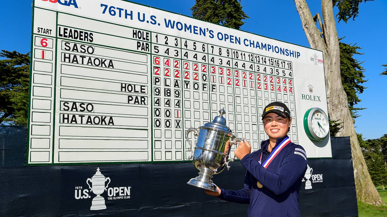Philippine Saso Steals Show With Playoff Win At Olympic