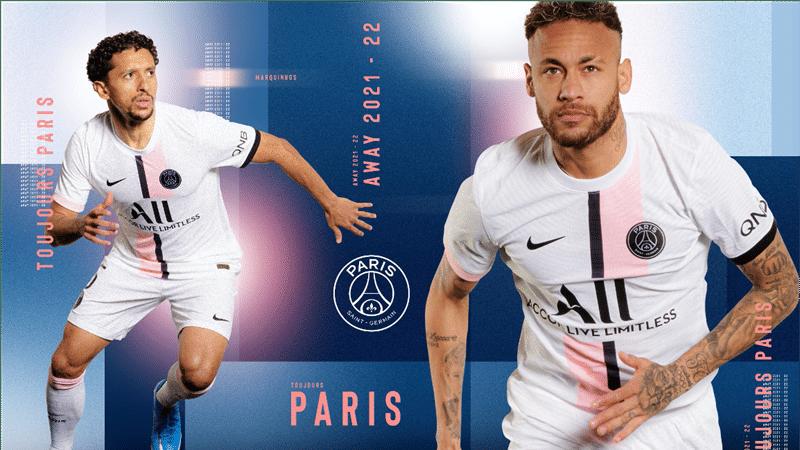 Get Your 21 22 Away Kit Paris Saint Germain
