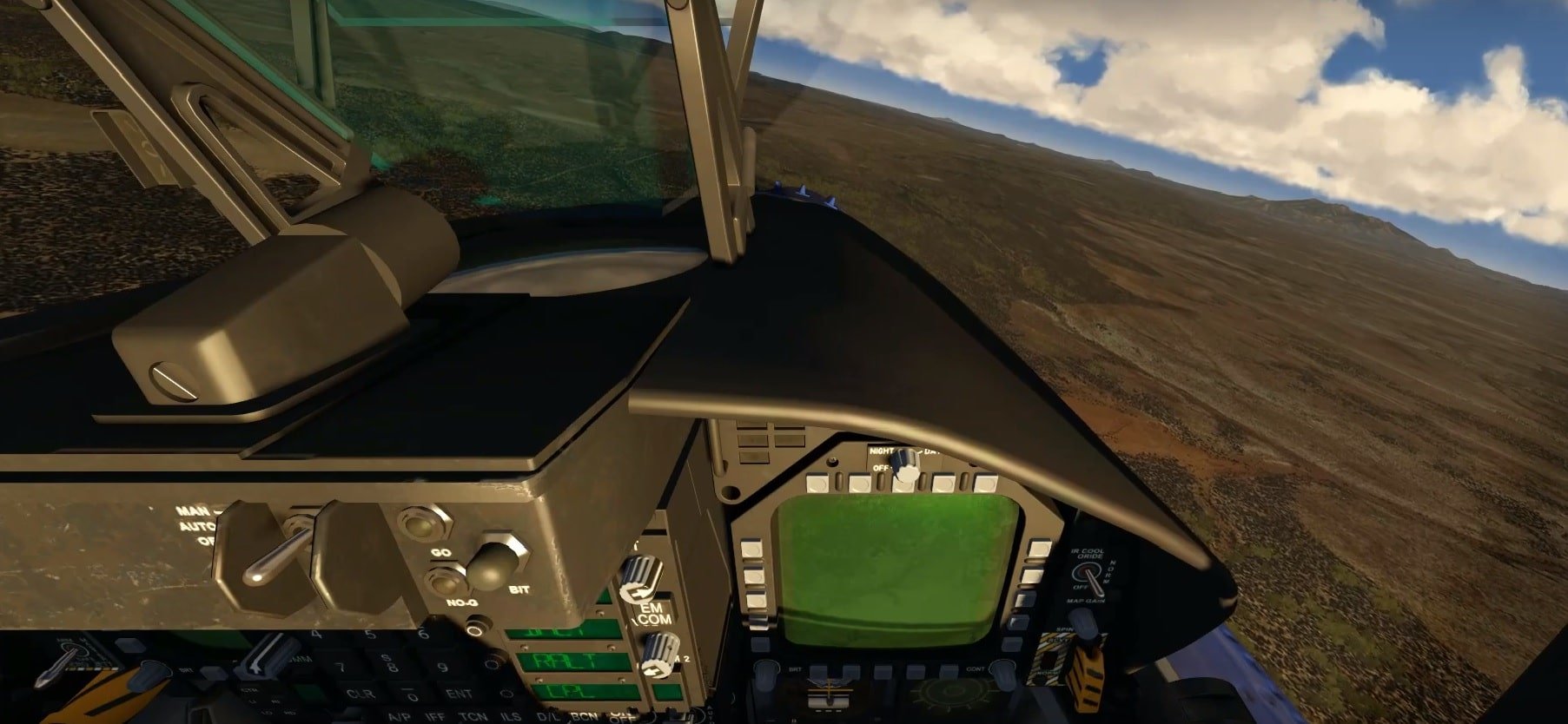 F15 Pilot Head View Rotation To See Front Cockpit Panel Developers General And Aircraft Ipacs Aerofly Forum