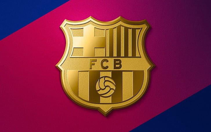 4096x2304px Free Download Hd Wallpaper Soccer Fc Barcelona Logo Wallpaper Flare
